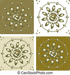 motives for seamless background - graphic flower faces(5).jpg