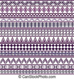 motives, roxo, formas, geométrico, fundo, africano