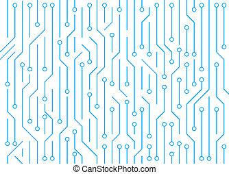 motivi dello sfondo, astratto, fondo., asse, circuito, alta tecnologia, bianco, tecnologia, texture., illustration.