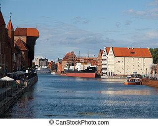 motlawa, rio, em, gdansk