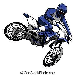 moto, 產生雜種, 騎手
