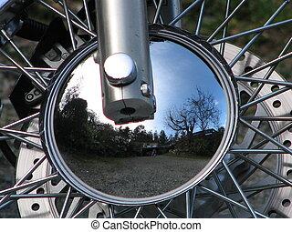 moto, réflexions