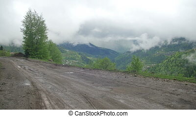 Moto Travel through the Mountains and Hills - Moto travel...