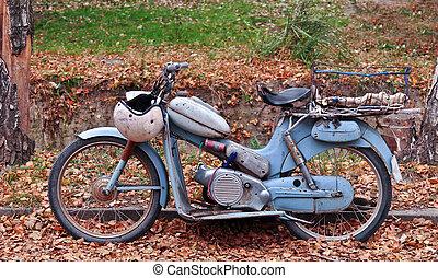 motocicleta, clásico
