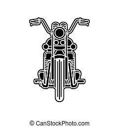 motocicleta, logotipo