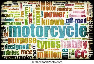 motocicleta, passatempo