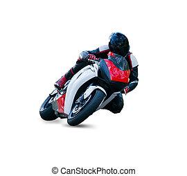 motocicletta, piattaforma girevole