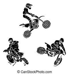 motocross, 紋身, 彙整
