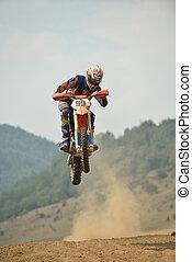 motocross, bicicletta