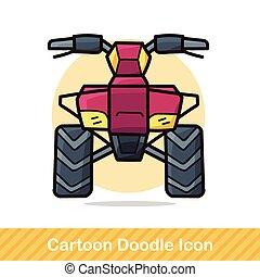 Motocross doodle
