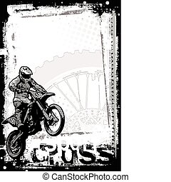 motocross, fond