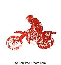 Motocross, jeździec