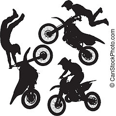 motocross, salto
