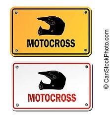 motocross signs