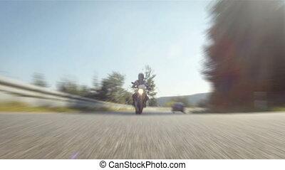 motocyclette course