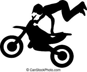 motokrossz, árnykép