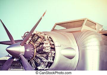 motor, airplane