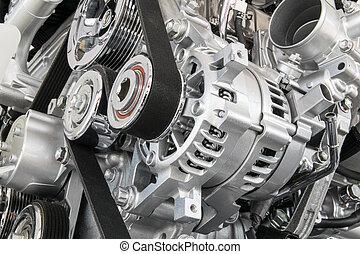 motor, auto- teil