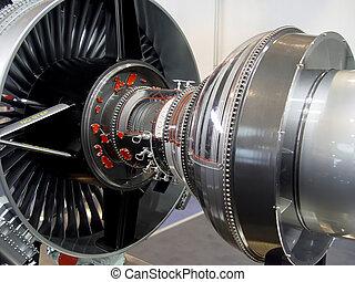 motor, avión