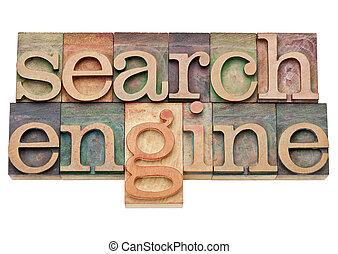 motor, búsqueda, concepto, -, internet