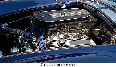 motor, bil