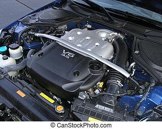 motor, bil, v6, sports