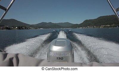 motor boat water