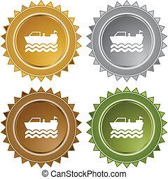 Motor Boat web icon