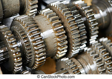 motor, boxas, drev, transmission, bil, eller