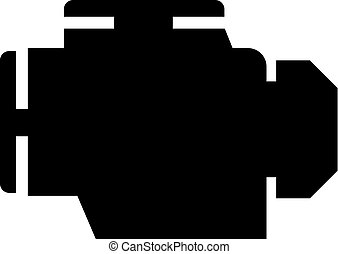 motor car icon - Creative design of motor car icon