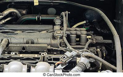 motor, car, vista