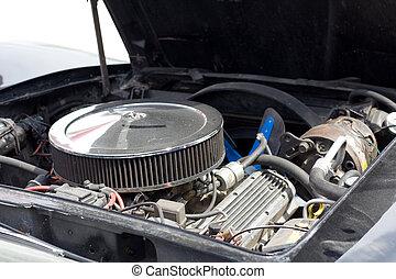 motor carro, americano