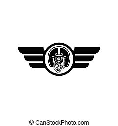Motor club logo design vector illustration template - Motor ...