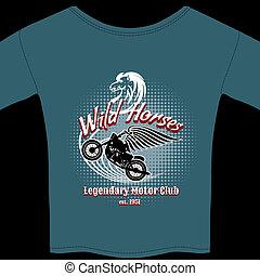 Motor Club t-shirt membership design