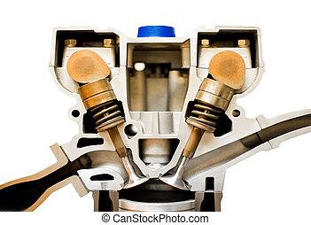 motor, cutaway