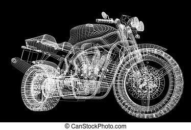Motor cycle street fighter - Motor cycle street fighter