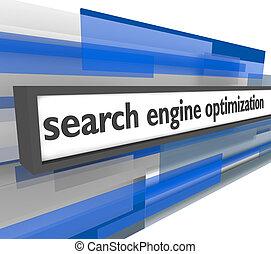 motor, durchsuchung, optimization, bar