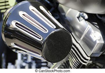 motor, filtrera, motorcykel, luft