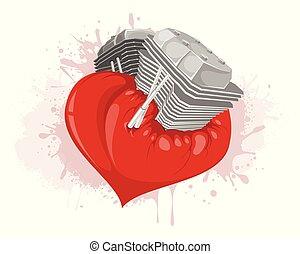 Motor in the heart
