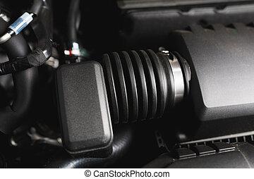 motor, kraftfahrtechnisch, einlaß, rohr, luft