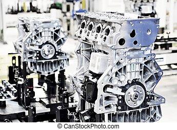 motor, manufactoring