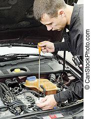 Motor Oil Checking