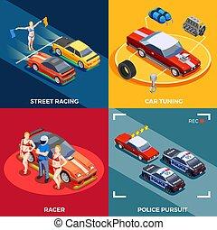 Motor Racing Design Concept
