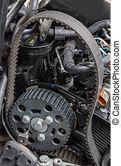 motor, reparación coche