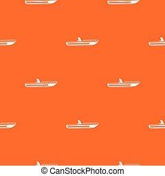 Motor speed boat pattern seamless - Motor speed boat pattern...