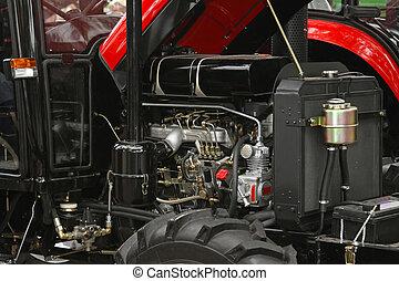 motor, trator