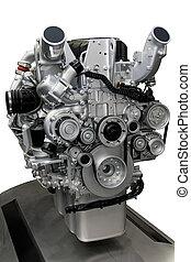 motor, turboladdare, diesel