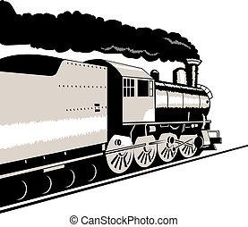 motor, vapor