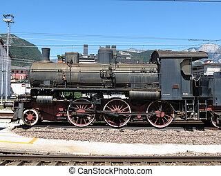 motor vapor, locomotiva