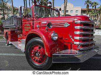 motor, vuur, historisch, oud, tempe